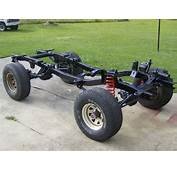 Ford Bronco 2 Chassis Measurments