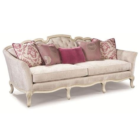 rachlin sectional rachlin classics rochelle exposed wood french sofa with