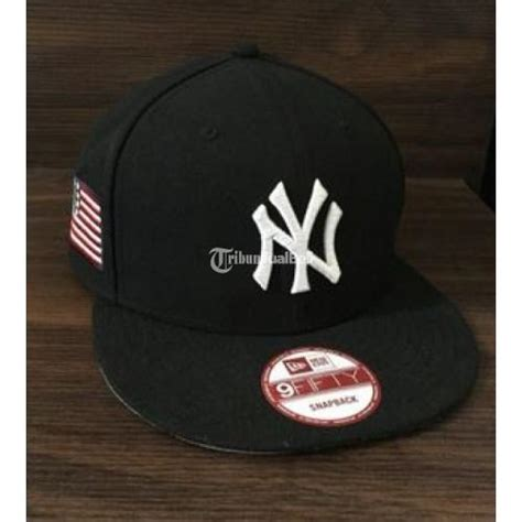 Topi Snapback Skrillexwarna Hitam topi snapback ny new era american flag second ori warna hitam jakarta dijual tribun jualbeli