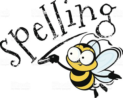 spelling clip bumblebee clipart spelling bee pencil and in color
