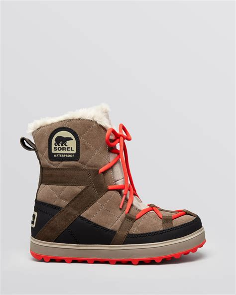 cold weather sneakers sorel waterproof cold weather boots glacy explorer