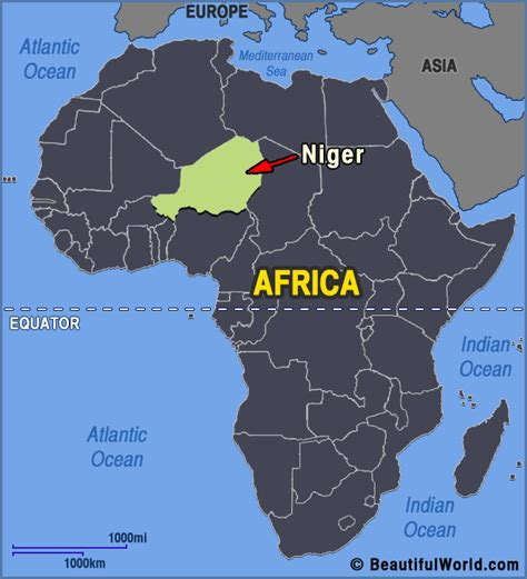 africa map niger map of niger facts information beautiful world