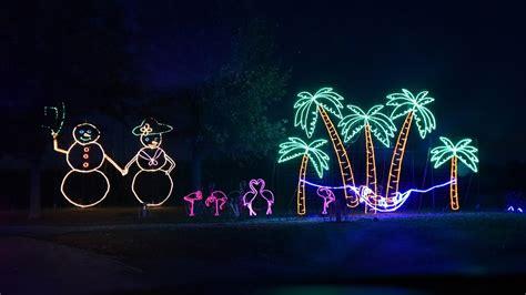 llong view lake park christmas light display ks in the park 2016 kansas city missouri