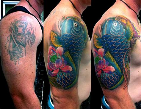 japanese cover up tattoo designs 57 amazing cover up shoulder tattoos