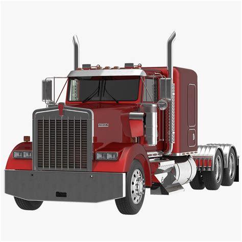 kenworth w900 model 3dsmax truck w900