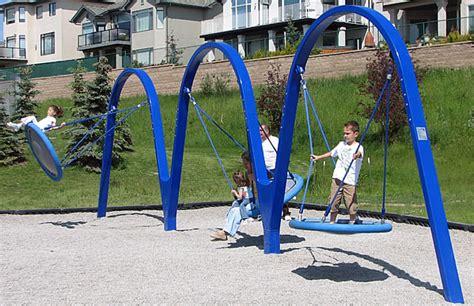 biggo swing biggo trio swing set playground equipment usa