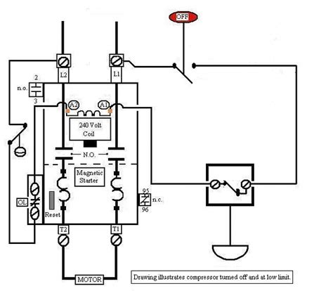 5 best images of 3 phase compressor wiring diagram 3