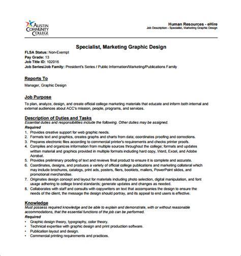simple job description layout graphic designer job description template 10 free word