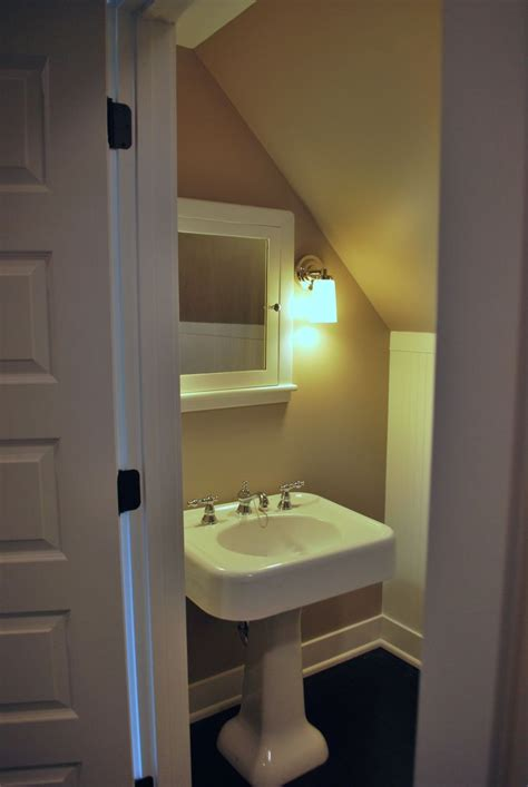 small attic bathroom ideas attic bath my dream house pinterest