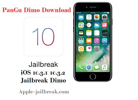 dimo version pangu ios 10 3 1 10 3 2 jailbreak revealed with iphone 7 7 plus support