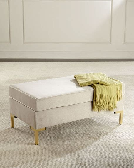 Pillow Top Bench by Kendra Pillow Top Bench