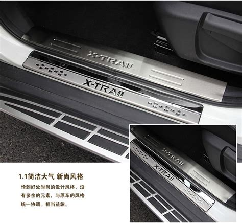 Supplier Door Sill Plate All New X Trail 2015 With L Ori Desain for nissan rogue x trail stainless door sill scuff plate guards door sills protector x trail t32