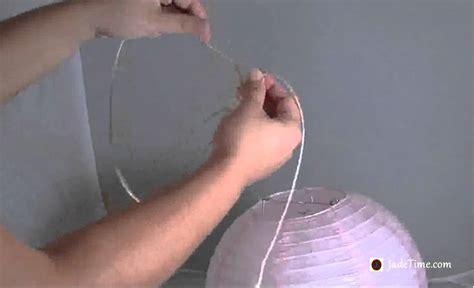 How To Make Hanging Paper Lanterns - how to hang paper lanterns