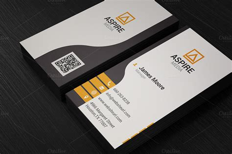 clean corporate business card business card templates on