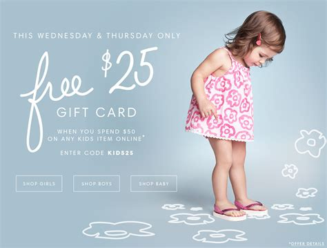 Joe Fresh Gift Card - joe fresh canada promotional code free 25 gift card when you spend 50 or more on