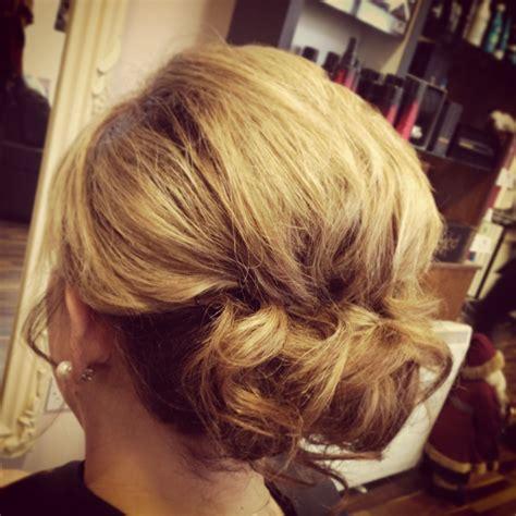 upstyle hair styles soft upstyle for medium length hair hair pinterest