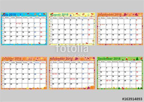 Kalender 2018 Feiertage Italien Quot Farbenfroher Kalender 2018 F 252 R Die Usa Mit Gesetzlichen