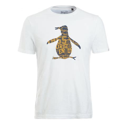 T Shirt Original 1 original penguin s t shirt white lettered penguin