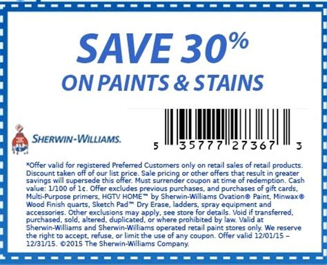 coupons for sherwin williams paint store sherwin williams coupons get 30 on paint
