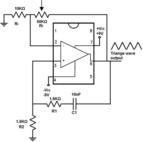 integrator circuit triangle wave integrator circuit triangle wave 28 images electronics is practical integrator circuit a