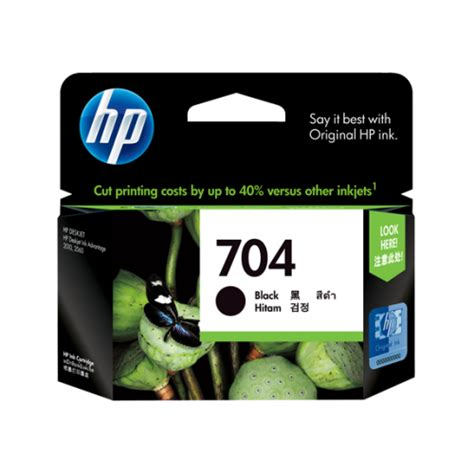 Tinta Hp 704 Color Original cartridge hp 704 black tinta printer original