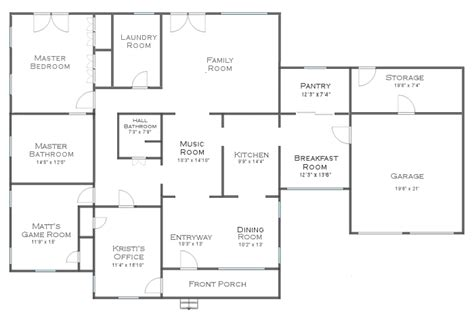 house plans with living room in front my dining room pantry decision you ll probably be surprised