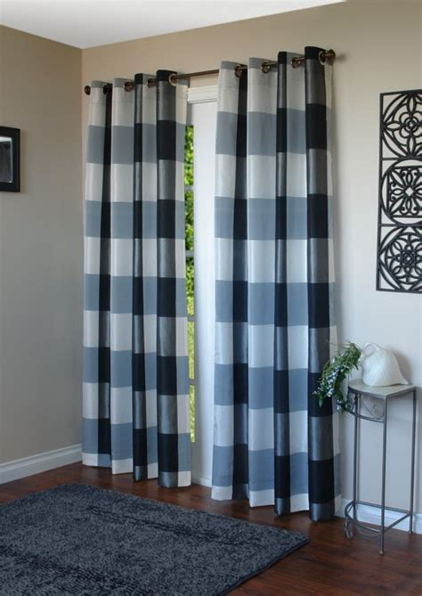 curtain standard lengths why floor length curtain panels are the way to go