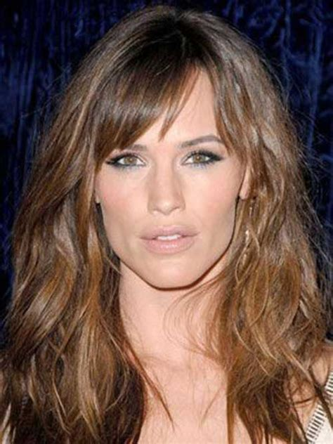 messy toward face hair cut 20 best hairstyles for women with long faces hair