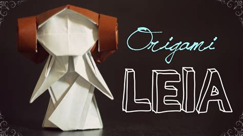 Origami Princess Leia - how to make a lovely origami princess leia