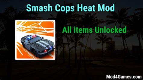 game mod apk obb smash cops heat modded game apk free with offline obb data