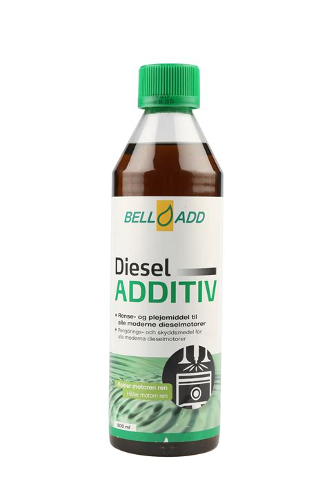 Travo Bell 20 Er bell add additiv til diesel 500ml nyeste formulering