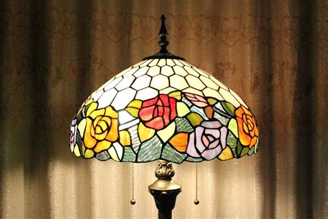 stained glass torchiere l shades bedroom stiffel torchiere shade white glass 15w l pro