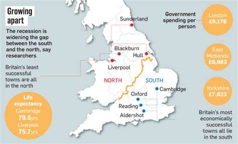 map uk south divide can high speed railways put the back on track