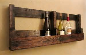 recycled pallet wine rack recycling