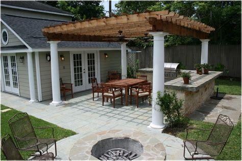Pergola Backyard Grill Ideas   Design Idea And Decorations