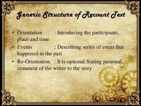 biography recount generic structure presentasi recount text smpn 2 jepara