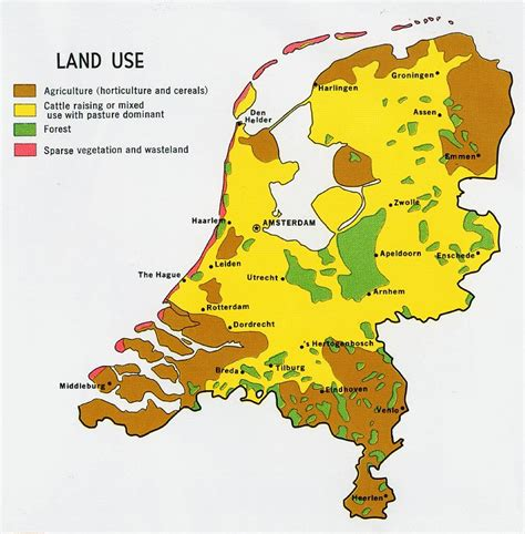 map of netherlands nationmaster maps of netherlands 19 in total