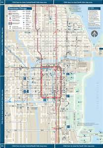 Chicago Public Transportation Map by Cta Map Northside Bing Images