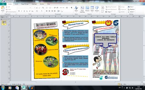 cara membuat brosur menggunakan microsoft publisher minggu 3 aplikasi garis panduan dan etika penggunaan