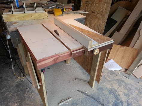 build your own table saw plans free
