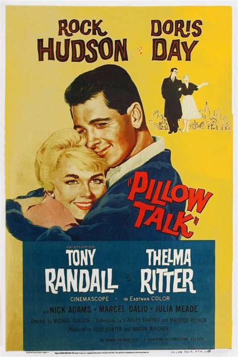 Pillow Tal by Those Classic Pillow Talk 1959 Quot Roly Poly Quot