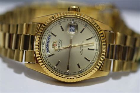 Orient Kombinasigold New For orient quot rolex day date quot style