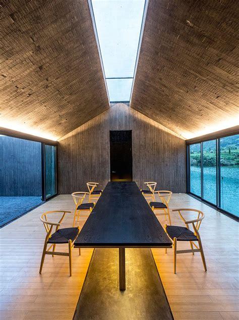 dna architecture  design casts concrete damushan tea house