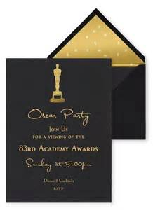 best oscar viewing invitations paperblog