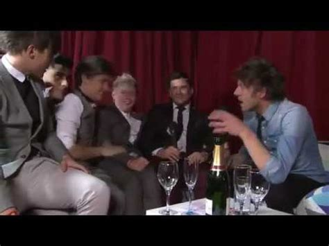 one direction interview after the brits + niall and harry