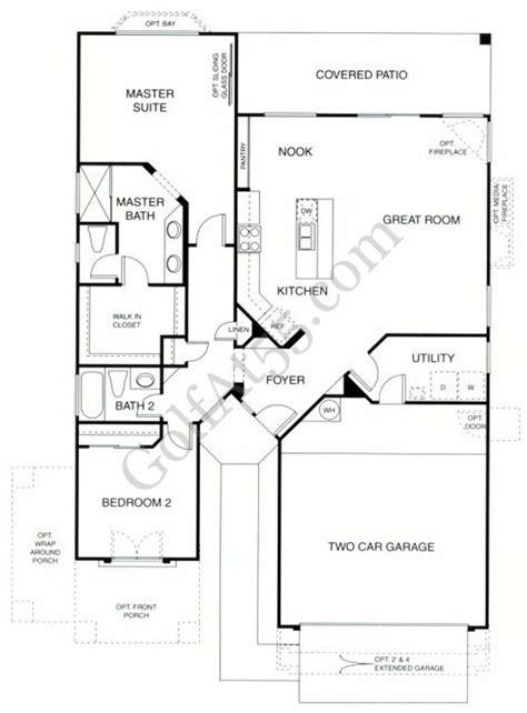 trilogy at vistancia vesta floor plan model shea trilogy shea homes az floor plans
