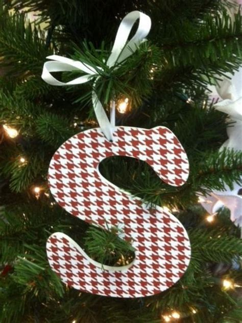 red houndstooth christmas ornament it s tradition it s