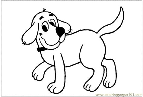 coloring pages clifford 001 cartoons gt clifford free