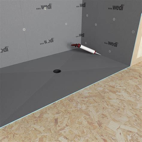 Wedi Shower Curb by Wedi Fundo Ligno Curbless Shower Genesee Ceramic Tile