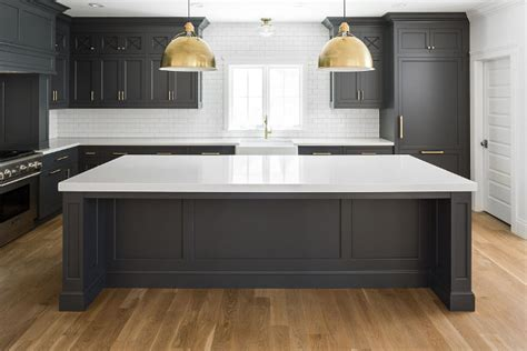 new kitchen trend cabinets subway tile